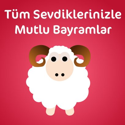 Kurban Bayramı Mesajı messages sticker-5