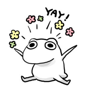 Daily Frog messages sticker-9