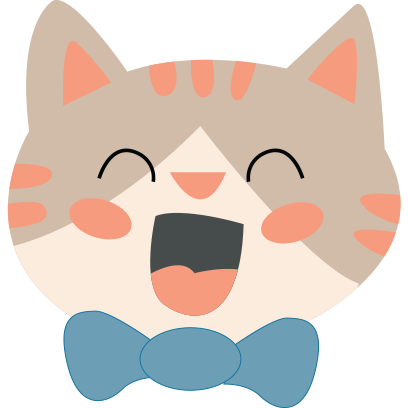 Face cats emoji for iMessage messages sticker-1
