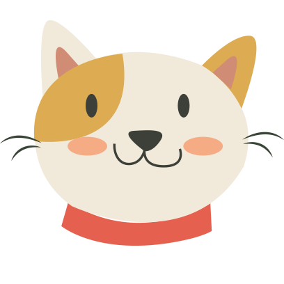Face cats emoji for iMessage messages sticker-2