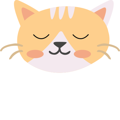 Face cats emoji for iMessage messages sticker-8