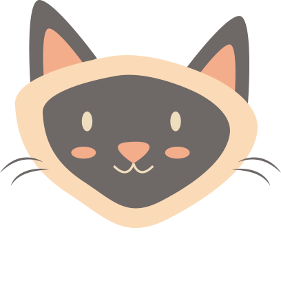 Face cats emoji for iMessage messages sticker-4