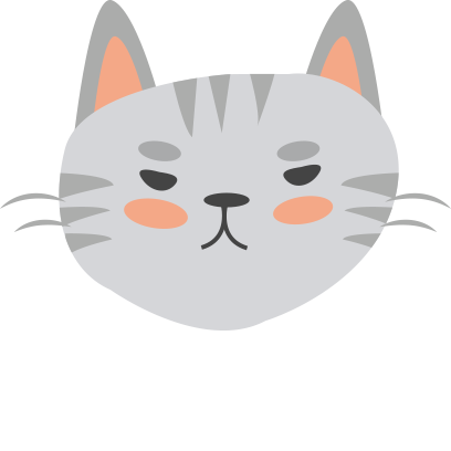 Face cats emoji for iMessage messages sticker-7