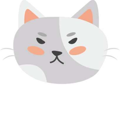 Face cats emoji for iMessage messages sticker-11