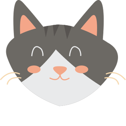 Face cats emoji for iMessage messages sticker-3