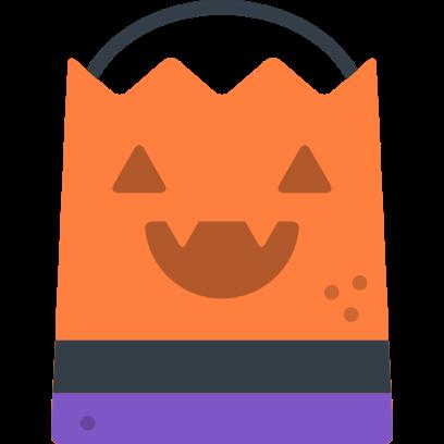Halloween Flat Sticker Pack for iMessage messages sticker-1