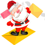 Christmas Snowman striker messages sticker-3