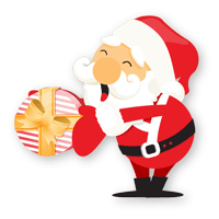 Christmas Snowman striker messages sticker-8