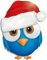 Christmas Snowman striker messages sticker-4
