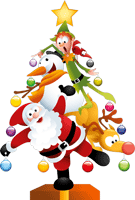 Christmas Snowman striker messages sticker-7