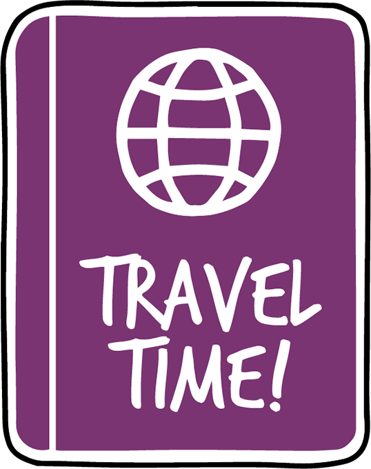 Let's go Travel - Sticker Pack for iMessage messages sticker-1