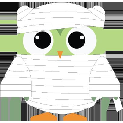 Cute Owl Sticker 2017 messages sticker-1