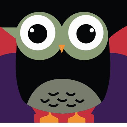 Cute Owl Sticker 2017 messages sticker-5