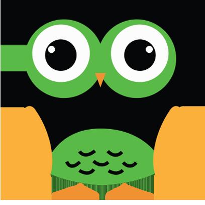 Cute Owl Sticker 2017 messages sticker-9