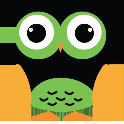 Cute Owl Sticker 2017 messages sticker-3