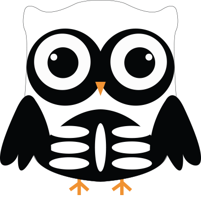 Cute Owl Sticker 2017 messages sticker-0