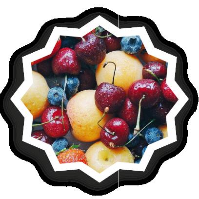 Beautiful fruits messages sticker-11