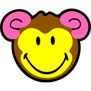 Smiley Monkeys messages sticker-0