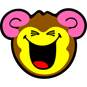 Smiley Monkeys messages sticker-1