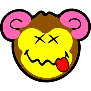 Smiley Monkeys messages sticker-5