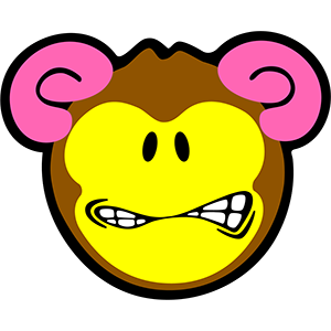 Smiley Monkeys messages sticker-8