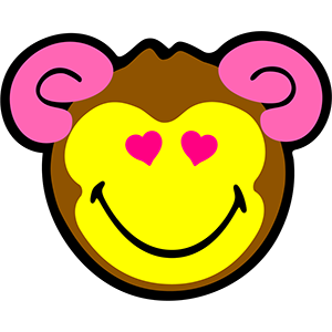 Smiley Monkeys messages sticker-9