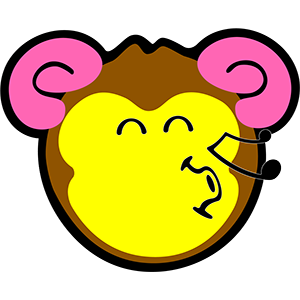 Smiley Monkeys messages sticker-4