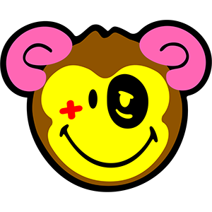 Smiley Monkeys messages sticker-6