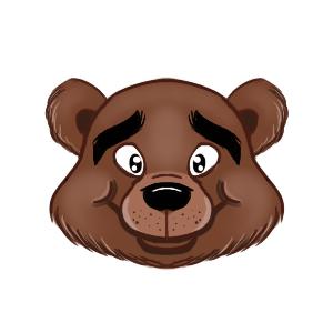 Bearmojii messages sticker-9