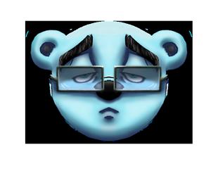 Bearmojii messages sticker-8