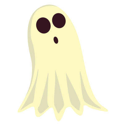 Ghost halloween emoji messages sticker-11