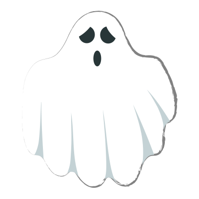 Ghost halloween emoji messages sticker-0