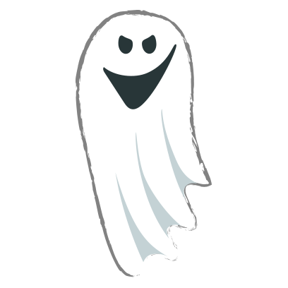 Ghost halloween emoji messages sticker-9