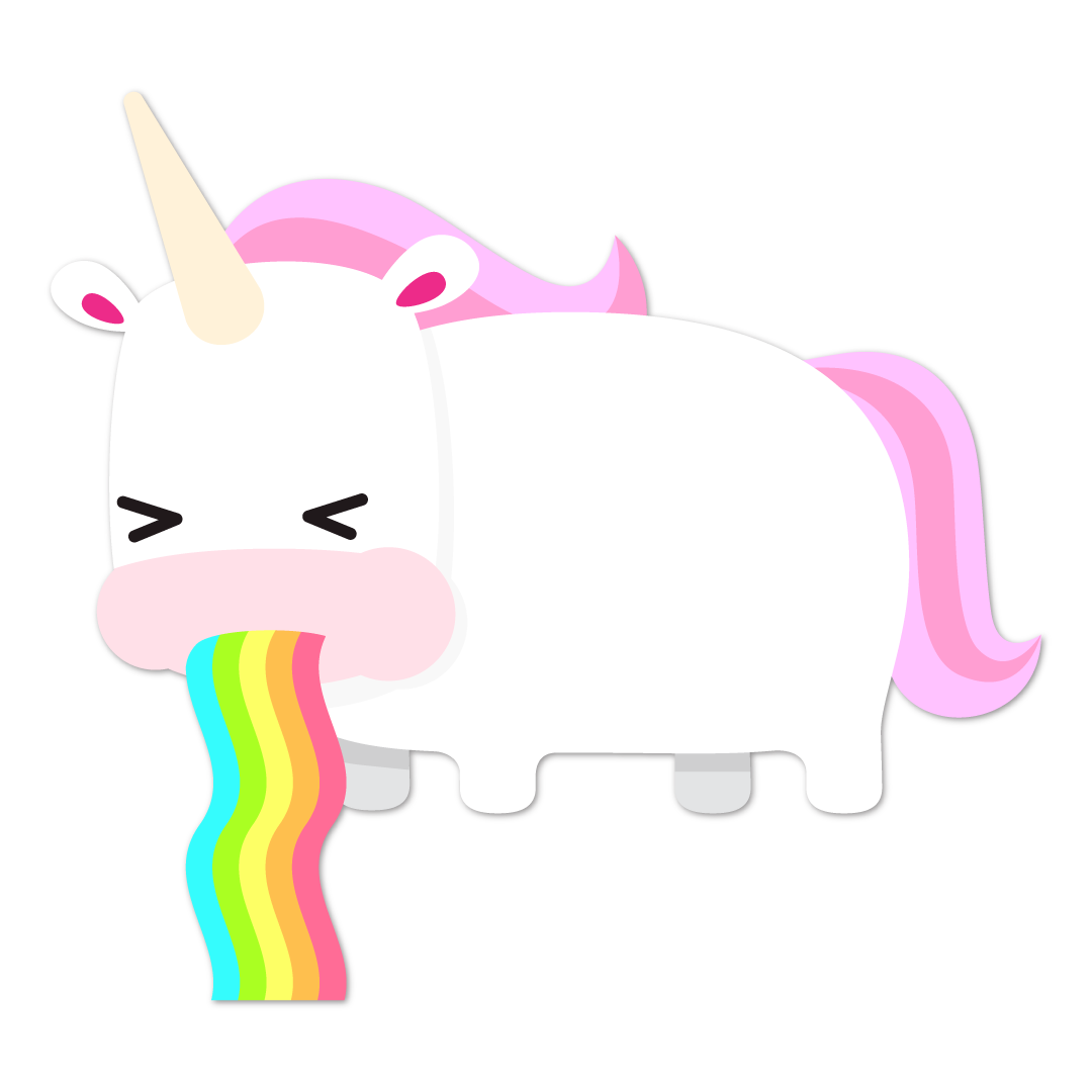 Unicorn Life messages sticker-6