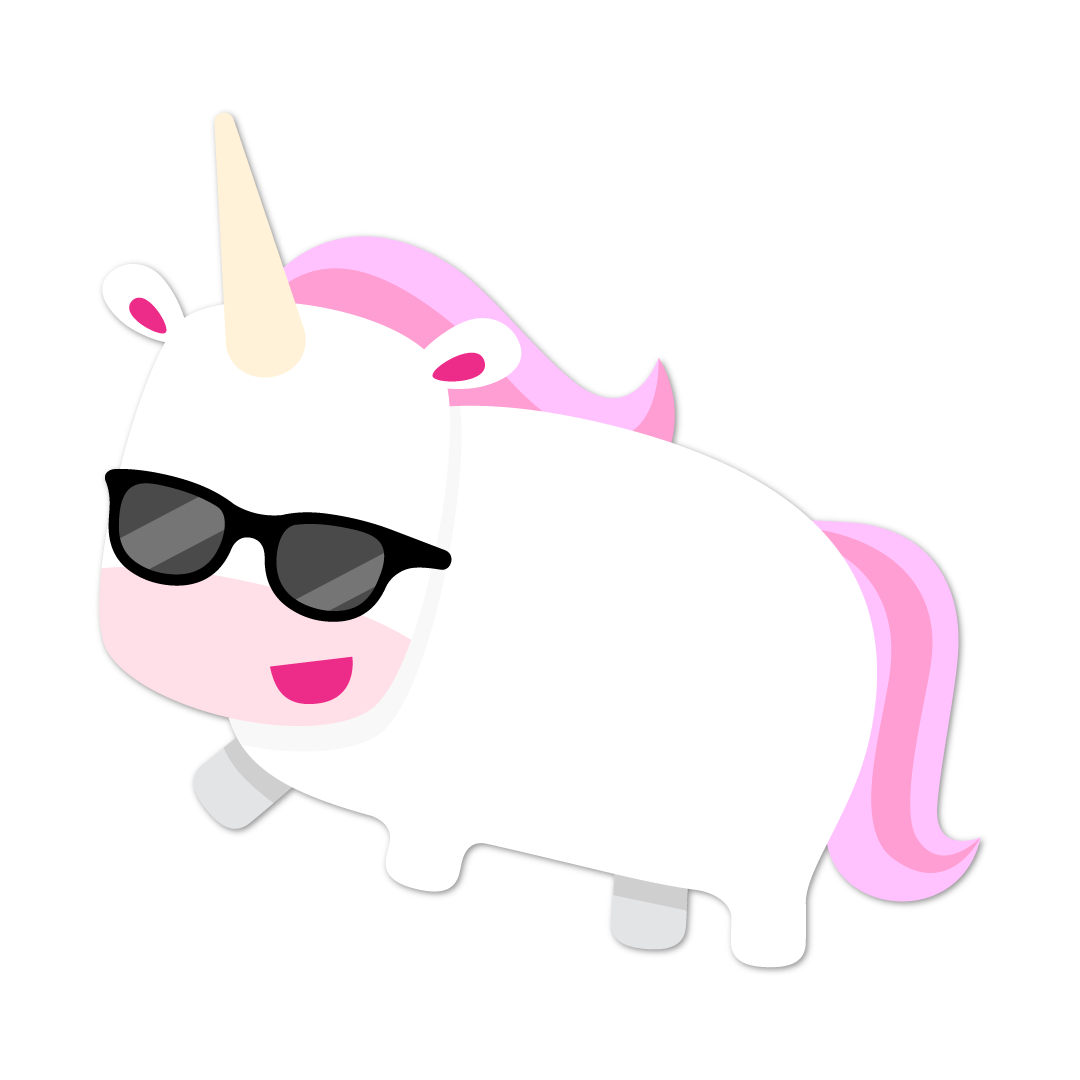 Unicorn Life messages sticker-2