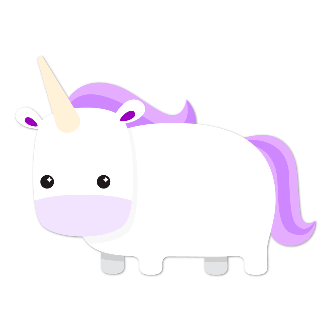 Unicorn Life messages sticker-10