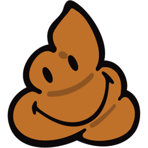Smiley Poopy Stickers messages sticker-0