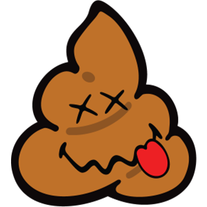 Smiley Poopy Stickers messages sticker-5