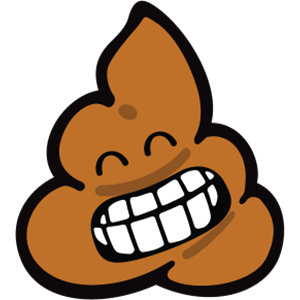 Smiley Poopy Stickers messages sticker-3
