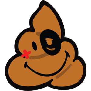 Smiley Poopy Stickers messages sticker-6