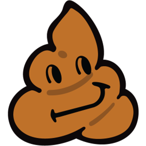 Smiley Poopy Stickers messages sticker-2