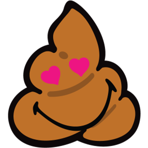Smiley Poopy Stickers messages sticker-9