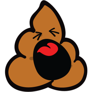 Smiley Poopy Stickers messages sticker-7