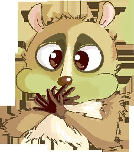 Lemur - Cute stickers messages sticker-6