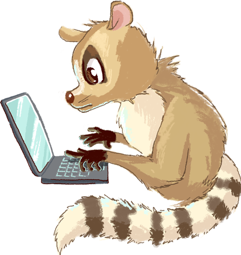 Lemur - Cute stickers messages sticker-5