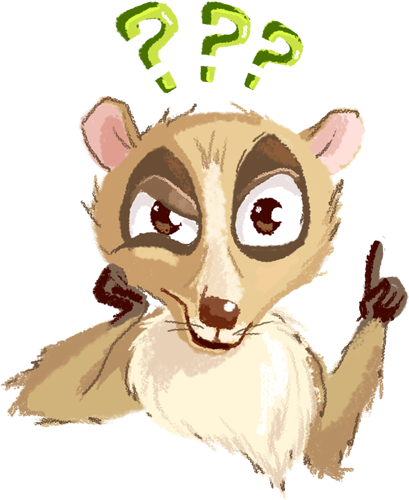 Lemur - Cute stickers messages sticker-9