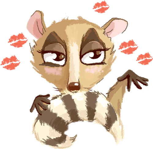 Lemur - Cute stickers messages sticker-11