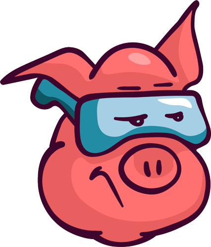 Pig - Cute stickers messages sticker-6