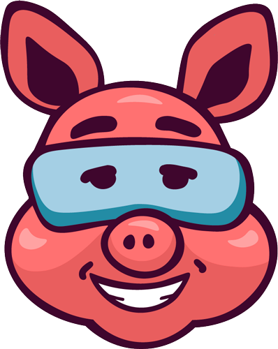 Pig - Cute stickers messages sticker-2