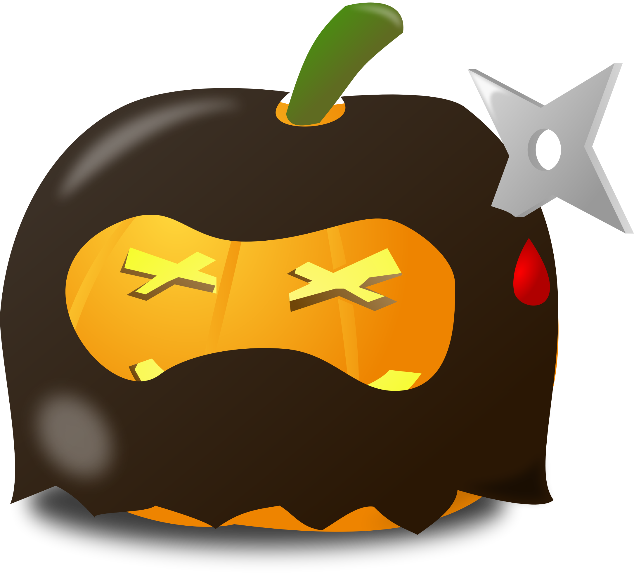 Spooky Halloween Pumpkins messages sticker-2